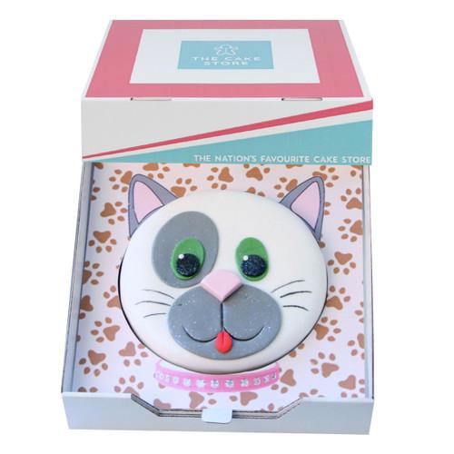 Cute Cat Gift Cake