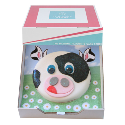 Cuddly Cow Gift Cake