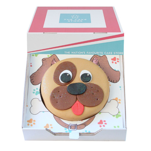 Puppy Dog Gift Cake