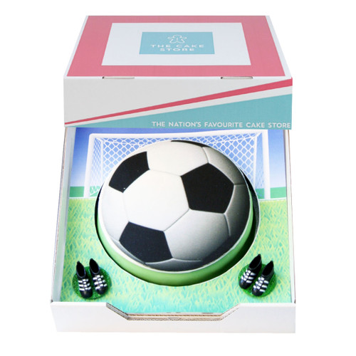 Football Crazy Gift Cake