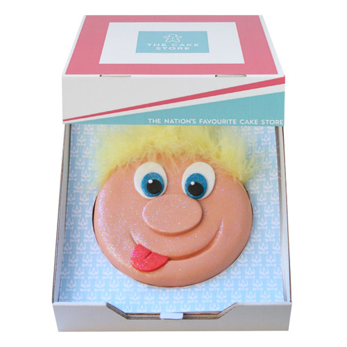Funny Face Gift Cake