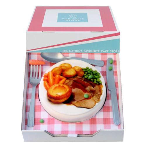 Roast Dinner Gift Cake