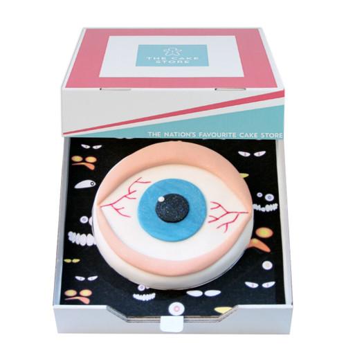 Scary Eye Gift Cake