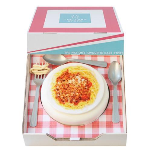 Spag Bol Gift Cake