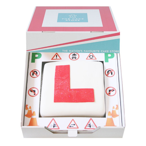 Driving Test Pass Gift Cake