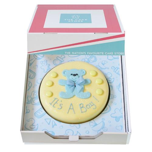 Baby Boy Gift Cake