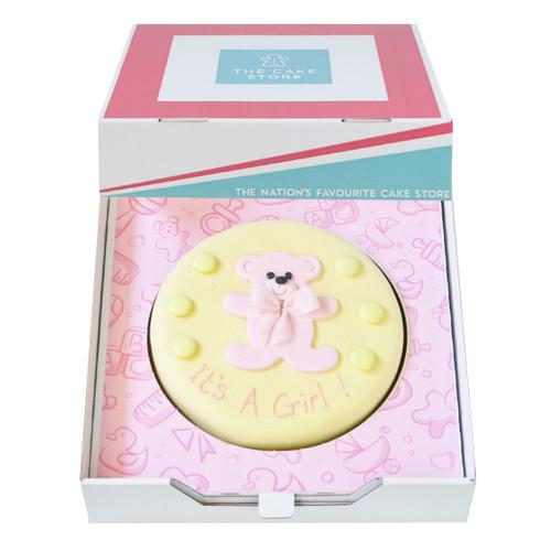 Baby Girl Gift Cake
