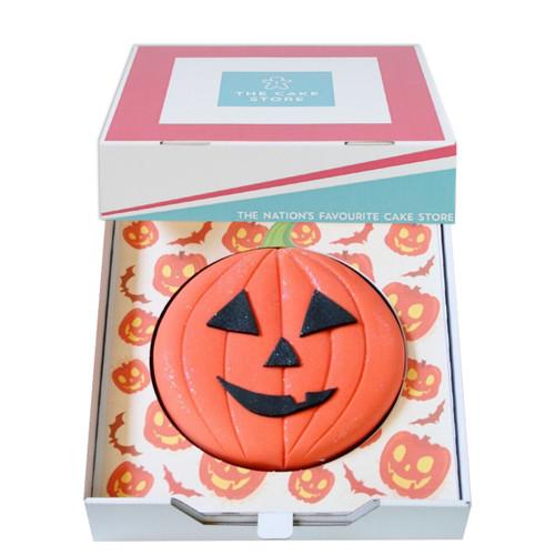Halloween Pumpkin Gift Cake