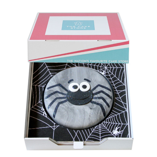 Creepy Spider Gift Cake