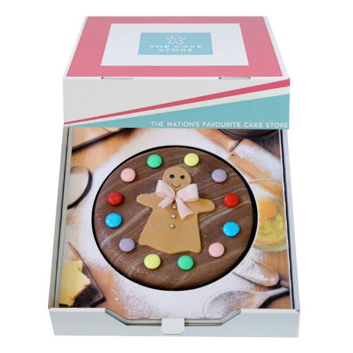 Gingerbread Girlie Gift Cake