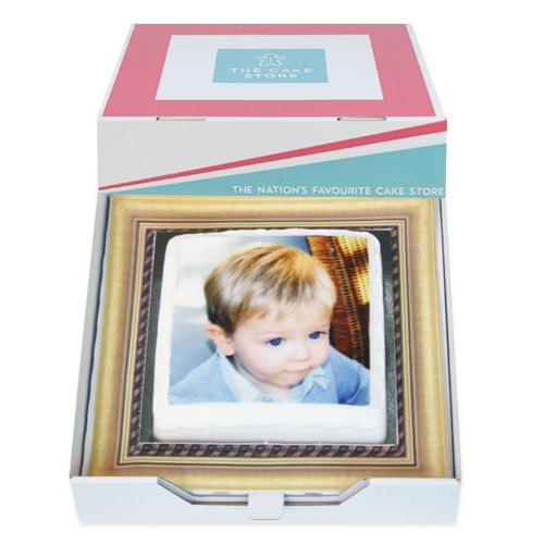 Photo Frame Gift Cake