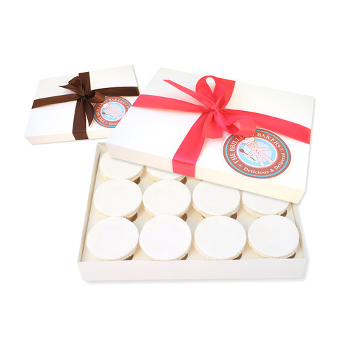 Box of 12 Corporate Cupcakes X3 Images