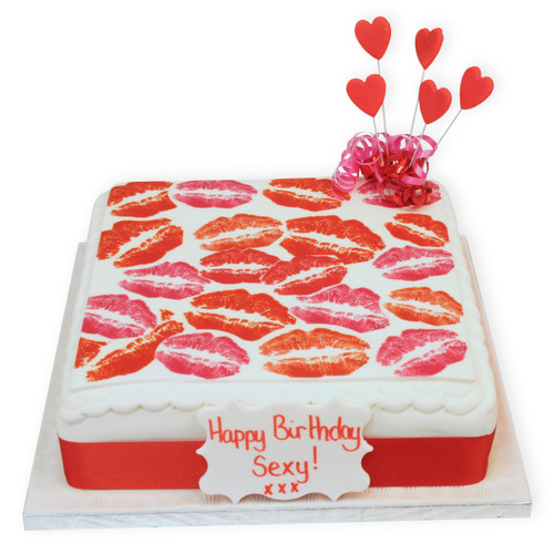 Love and Kisses Cake