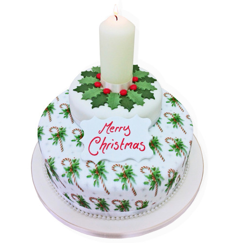 Christmas Two~Tier Cake