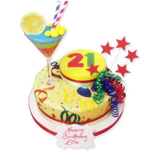 Special Age Birthday Cake