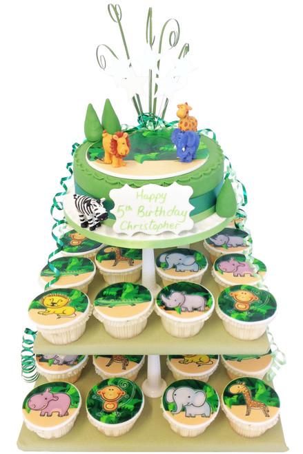 Jungle Cake Tower