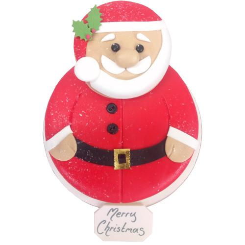 Santa Two~Tier Cake