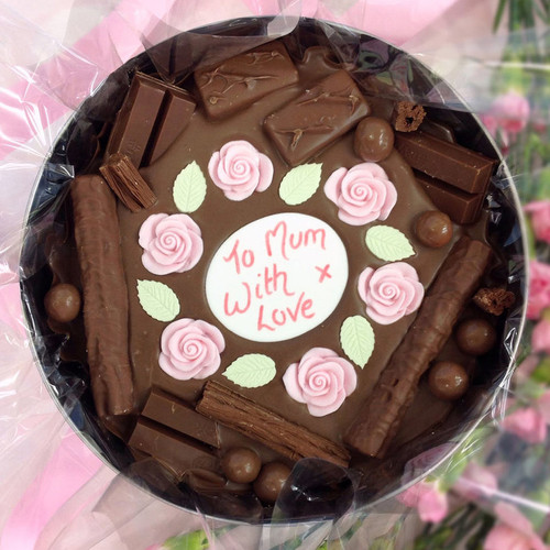 Sweet Flowers Cake In-a-Tin