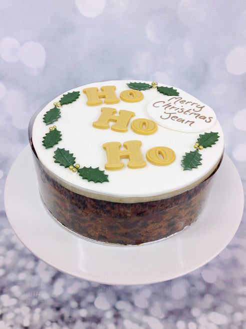 Ho Ho Ho Christmas Fruit Cake