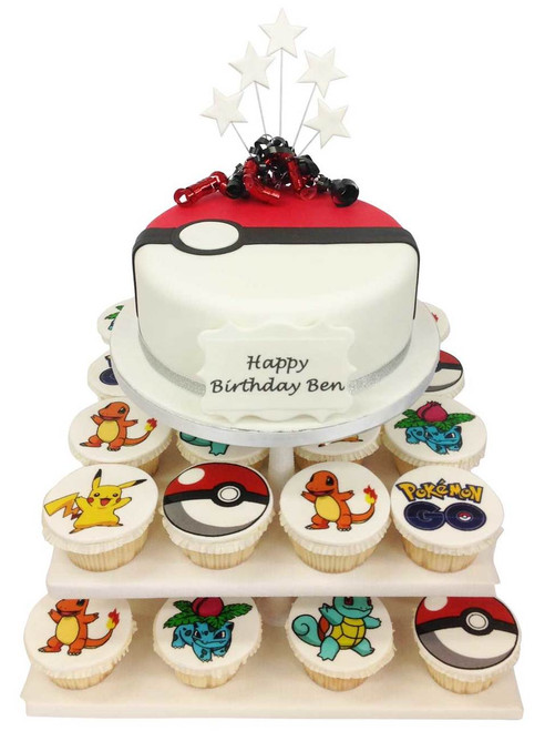 Pokemon Cake Tower