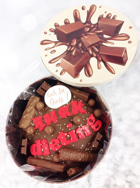 FXXX Dieting Cake In-a-Tin