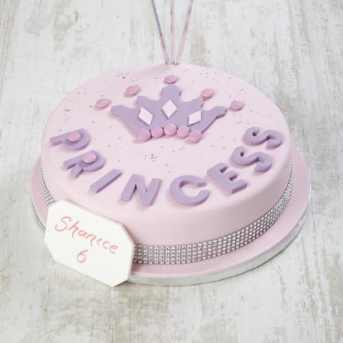 Princess Crown Cakes