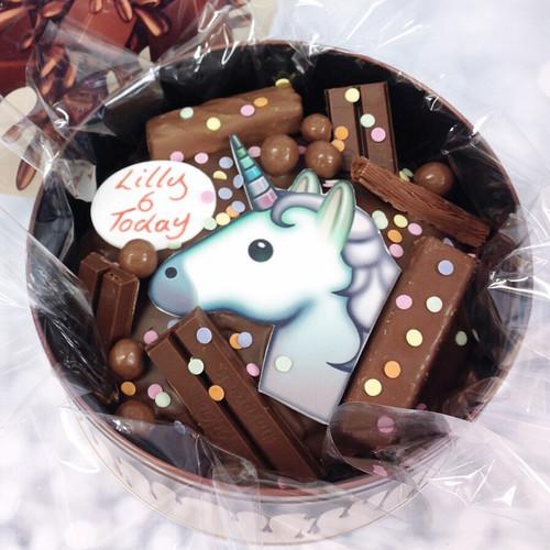 Unicorn Confetti Cake In-a-Tin