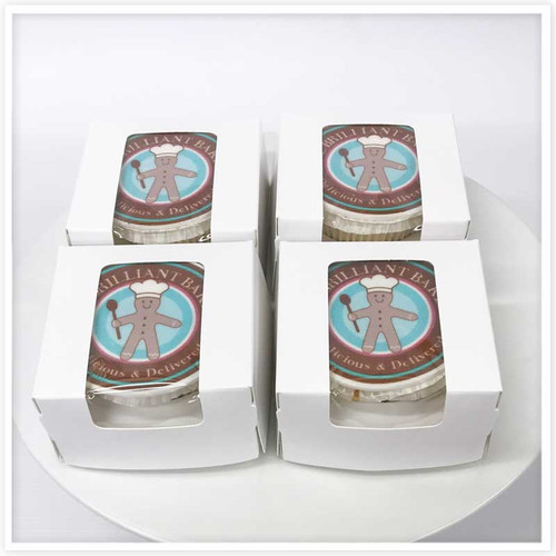 Corporate Cupcakes Boxed