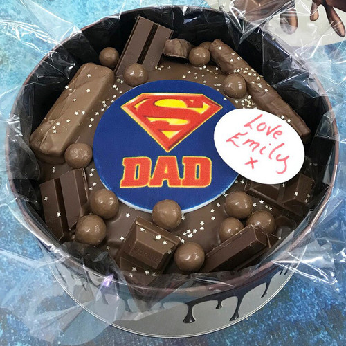 Super Dad Cake In-a-Tin
