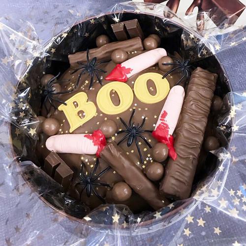 Halloween Cake In-a-Tin
