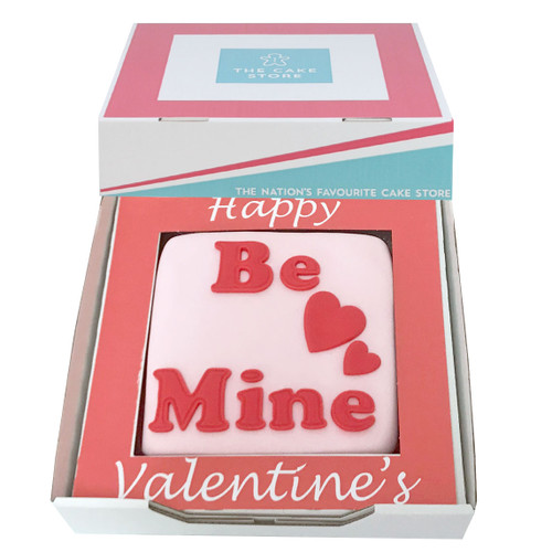 Be Mine Valentines Gift Cake