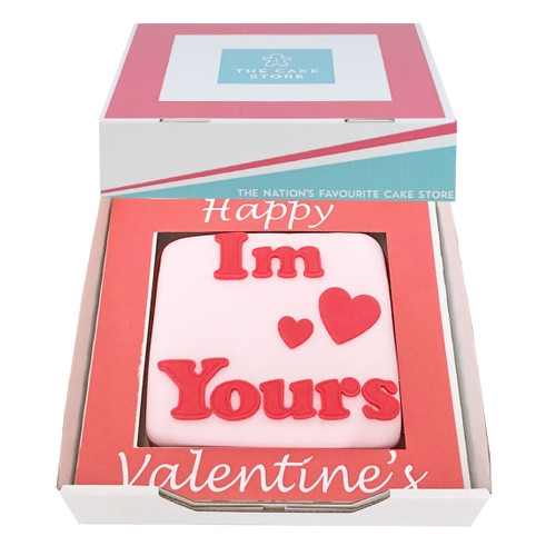 I'm Yours Valentines Gift Cake