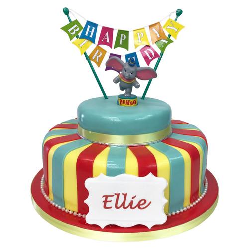 Dumbo Elephant Cake