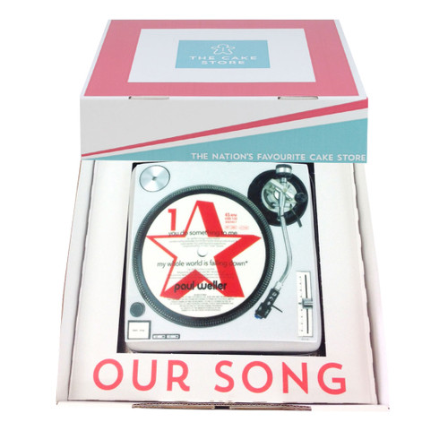 Our Song Gift Cake