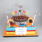 Hot Wheels Two~Tier Cake