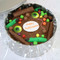 Happy Halloween Cake In-a-Tin