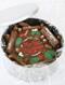 Holly & Mistletoe Cake In-A-Tin