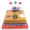 Paddington Bear Number Cake