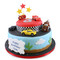 Cars Two~Tier Cake
