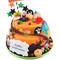 Halloween Tastic Two~Tier Cake