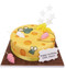 Mouse House Birthday Cake