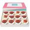A Dozen Red Rose Cupcakes