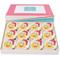 Emoji Santa Cupcakes