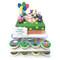 Peppa Pig Cake Tower