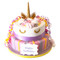 Unicorn Luxury Cake