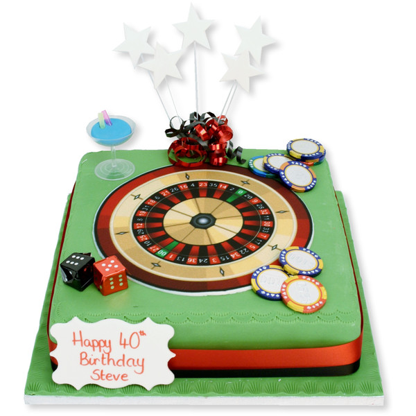 Marvelous Roulette Cake Mens Birthday Cakes The Brilliant Bakers Personalised Birthday Cards Paralily Jamesorg