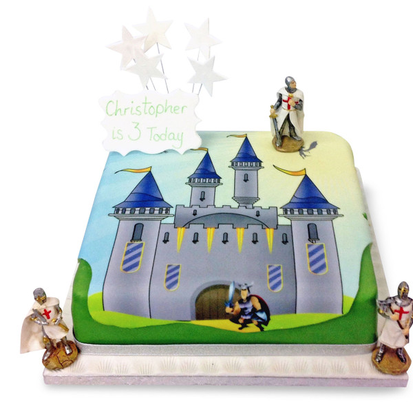 Awe Inspiring Knights Castle Cake Boys Birthday Cakes The Brilliant Bakers Funny Birthday Cards Online Alyptdamsfinfo