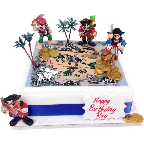 Pirate Birthday Cake