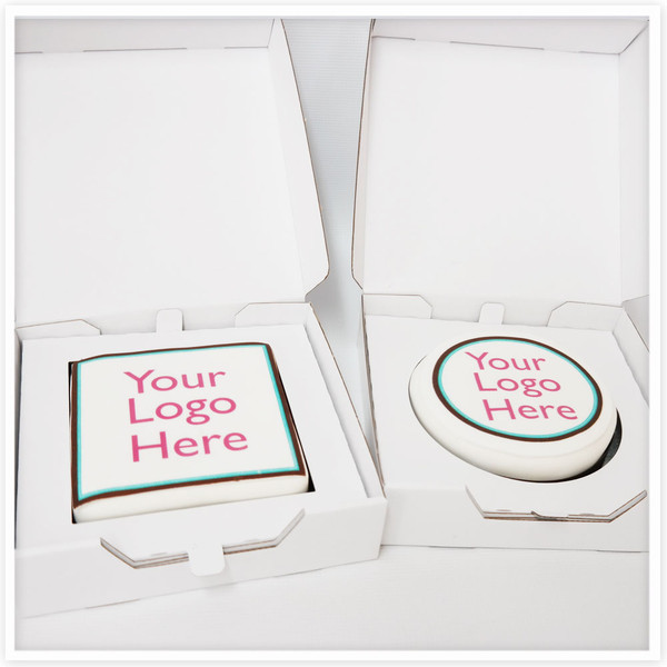 Corporate Logo Gift Cakes