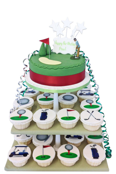 Golf Cake Tower